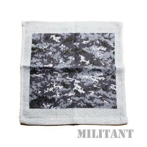 (ネコポス対応)海上自衛隊迷彩タオルハンカチ|militantonline