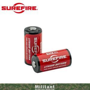 (ネコポス対応)SureFire SF-123A LITHIUM BATTERIES (CR123リチウムバッテリー)1本売り|militantonline