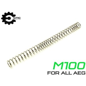 CNC Production M100 AEG メインスプリング 不等ピッチ