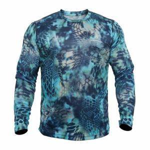 """HYPERIONの""""birds eye""""タイププルオーバーのロングスリーブTシャツです。非常にゆとり..."""