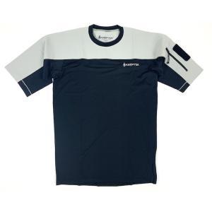 Kryptek クリプテック 正規品 VALHALLA SS CREW 半袖 Tシャツ 18VALSSRTBK5 BLACK/WOLF GREY Lサイズ|militaryblood
