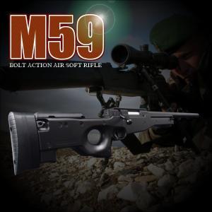 ☆L96モデルのスナイパーライフルM59が登場致しました。 ☆ボルトアクションライフル好きにはたまら...