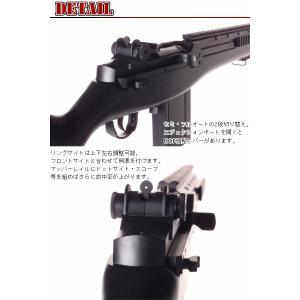 RSBOX 高性能1-1スケールスナイパーライフル 電動ガン M14 SOCOM16 フラッシュライト、スコープ搭載モデルM806エアガン|militarybox|02