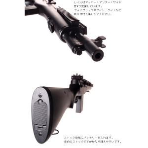 RSBOX 高性能1-1スケールスナイパーライフル 電動ガン M14 SOCOM16 フラッシュライト、スコープ搭載モデルM806エアガン|militarybox|03