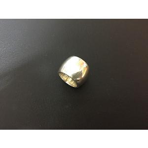 【rara】プレーンリング・シルバー中型L|milkyway-powerstone