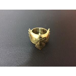 【rara】イーグルリング・真鍮|milkyway-powerstone