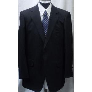 春夏物! サイズ AB体  (BB体売切)ツーパンツスーツ ブラックシャドウストライプ 123056|million-arrow