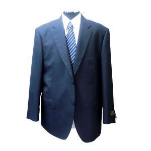 新着!88%OFF![秋冬物]大きいサイズもあり!日本製シングル2パンツスーツ ネイビーへリンボーン [サイズ:AB4〜8、BB5〜8、E5〜8] 127404|million-arrow