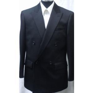 [サイズ 多数あり]礼服 ダブル超黒オールシーズン アジャスター付き(±6cm調節可能)|million-arrow