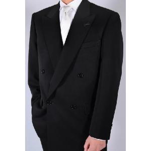 [サイズ 多数あり]礼服 ダブル超黒オールシーズン アジャスター付き(±6cm調節可能)|million-arrow|02
