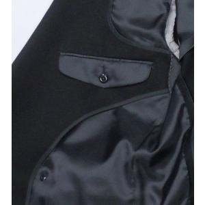 [サイズ 多数あり]礼服 ダブル超黒オールシーズン アジャスター付き(±6cm調節可能)|million-arrow|03