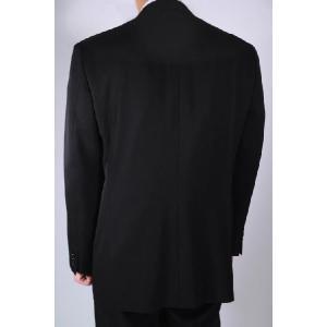 [サイズ 多数あり]礼服 ダブル超黒オールシーズン アジャスター付き(±6cm調節可能)|million-arrow|04