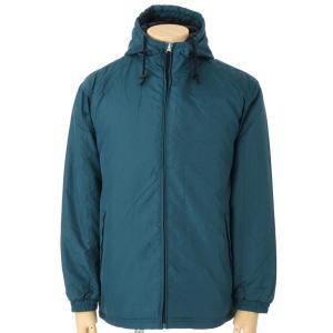 値下げ!外出やスポーツの防寒に。中綿入り フード付きハーフジャケット|million-arrow