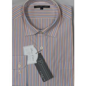 値下げ!FIDATO   高級綿 ピマコットン使用  長袖シャツ   Mのみ|million-arrow