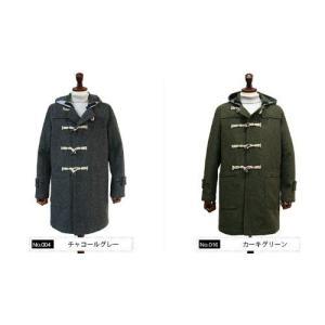 g-stage 【LEON11月号掲載】 メンズリアルホーンボイルドウールダッフルコート|million-arrow