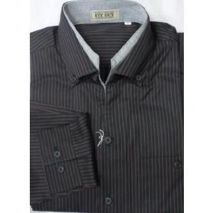 新着![サイズ M, L]  日本製二重衿長袖シャツ  2色 |million-arrow