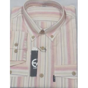 新作!61%オフ![サイズ M,L,LL]  百貨店ブランド  EASY-X  綿100%長袖シャツ   日本製|million-arrow