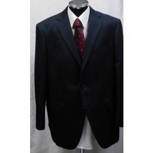 【1点物】【秋冬物】 洗えるパンツ  3ボタンツーパンツスーツ ネイビーストライプ系 [サイズ BB6]|million-arrow