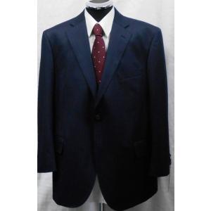 秋冬物  大きいサイズ E5 日本製シングルスーツ  紺ストライプ|million-arrow
