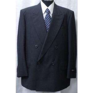 1点もの![サイズ BB4 ]ダブルスーツ チャコールグレー無地 日本製 |million-arrow