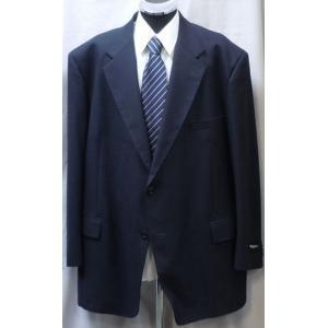 90%off!秋冬物めったにないこのサイズ[サイズ K7]シングルスーツ 紺無地 日本製|million-arrow