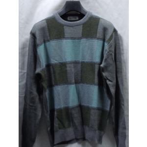 日本製!高級ブランド BON GIOVANE ラム杢 丸首セーター   Lのみ|million-arrow