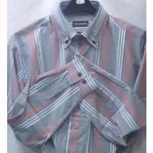 新作!62%オフ![サイズ M,L,LL]  百貨店ブランド  BON GIOVANE  綿100%長袖シャツ  2色 日本製|million-arrow