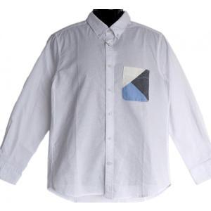 バイアス切替ポケット オックス ボタンダウンシャツ|million-arrow