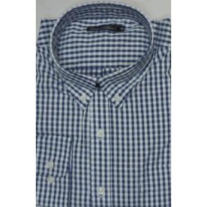 新着!大きいサイズ!  3L   綿100 長袖ギンガムチェックシャツ  |million-arrow