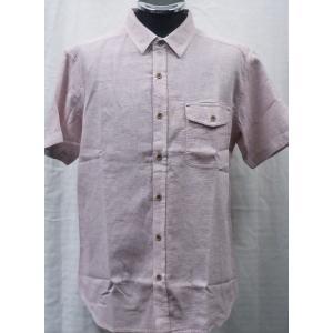 パナマ織り  綿100 %半袖シャツ  3色 |million-arrow