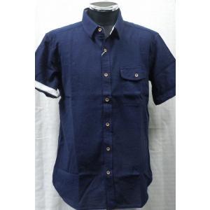 パナマ織り  綿100 %半袖シャツ  3色 |million-arrow|03