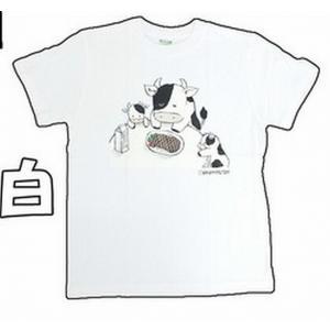 おもしろTシャツ  うし|million-arrow