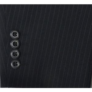 日本製!84%OFF!  A6 のみ [ (BB4567売切) (AB体完売)]レギュラーシングル2パンツスーツ ブラックストライプ S32405−1|million-arrow|04