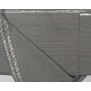 オーダー用 生地      大同 モヘア混   3.2m  茶系ストライプ|million-arrow