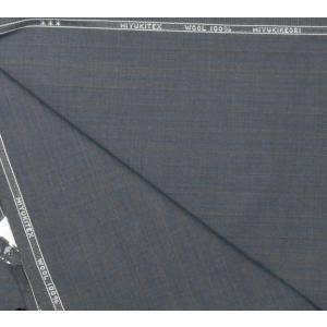 オーダー用 生地    ミユキ毛織  3.2m  グレーストライプ|million-arrow