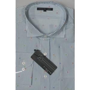日本製! FIDATO   高級綿 ピマコットン使用  長袖シャツ LLのみ|million-arrow