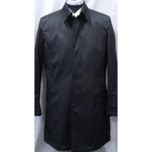 1点物![サイズ Lのみ ] ステンカラー中綿コート  ブラック    |million-arrow