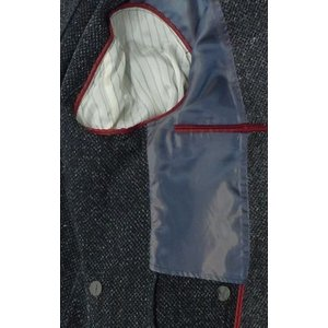 新着!秋冬物 ミエコウエサコ  デニム調ジャケット  [サイズ  AB体、BB体]   クロ|million-arrow|03
