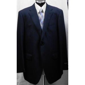 秋冬物 大きいサイズ  BB8   アランドロンレギュラースーツ  紺 シャドウストライプ|million-arrow