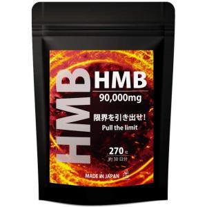 ナチュラルギフト HMB サプリ 国産高純度 推奨量配合 90000mg 270粒1ヵ月分|million-got