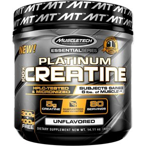 Muscletech マッスルテック プラチナ クレアチン パウダー Essential Series Platinum Creatine|million-got