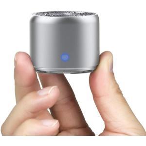 EWA A106 ワイヤレス Bluetoothコンパクトスピーカー極小型/高音質/パッシブ振動膜搭載/迫力のある低音/モバイル、車載、アウ million-got
