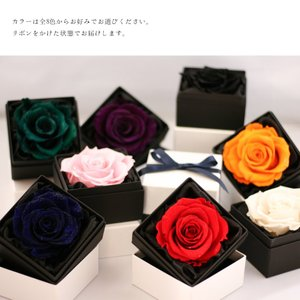 Makefuture Diamond Rose 9 プリザーブドフラワー 花 プロポーズ 薔薇 赤 一輪 フラワーボックス ブライトレッド million-got