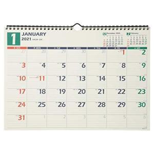 能率 NOLTY 2021年 カレンダー 壁掛け 14 B4 C115|million-got