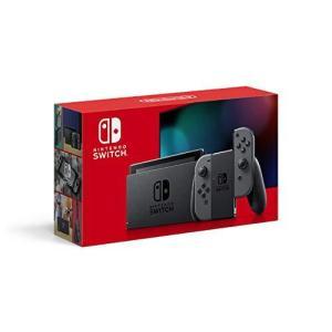 Nintendo Switch 本体 (ニンテンドースイッチ) Joy-Con(L)/(R) グレー|million-got