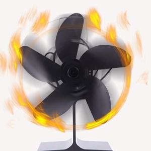 ストーブファン2020最新熱作動式 5 つブレード エコストーブファン 火力熱炉ファン エコファン 火力熱炉ファン 電源なし 静音 コンパク|million-got