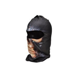 【BB09】 フェイスマスク バラクラバ フルフェイスマスク スカル ドクロ 骸骨 黒色|million