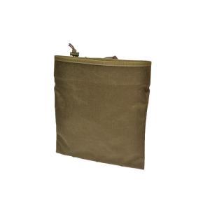 EMERSON製 ダンプポーチ 収納袋 使用済マガジンポーチ 平型 フォリッジグリーン FG 緑系色|million