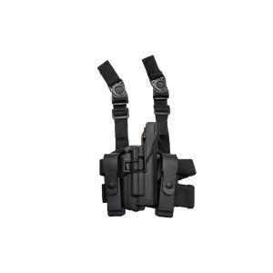 LV3スタイル ライトベアリング レッグホルスター サイホルスター GLOCK グロック G17用 黒 million