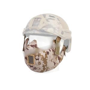 タクティカルハーフ プロテクティブマスク ハーフフェイスマスク AOR1迷彩 SEALs 【BD6641B】|million